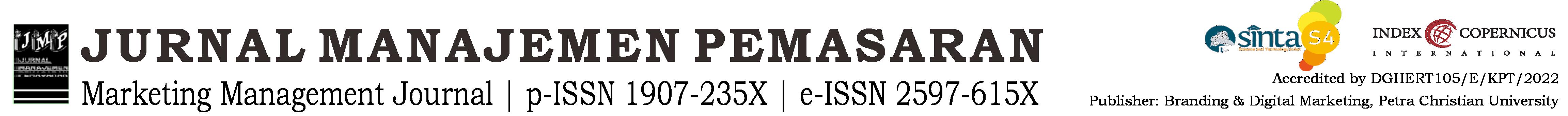 Jurnal Manajemen Pemasaran